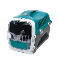 Catit Design Cabrio Cat Multi-Functional Carrier System Turquoise