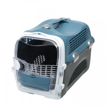Catit Design Cabrio Cat Multi-Functional Carrier System Blue Grey