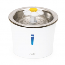 Catit Flower Fountain Stainless Steel with LED Nightlight 3L