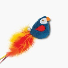 Catit Play Pirates Catnip Toy Parrot With Feather