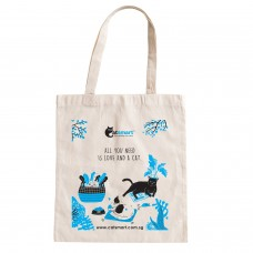 CatSmart Tote Bag All You Need Is Love And A Cat Edition