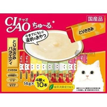 Ciao Churu Chicken Fillet Variety 40's