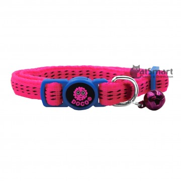 Doco Puffy Collar Pink