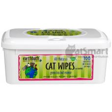 Earthbath Cat Wipes Green Tea Leaf Essence 100pcs