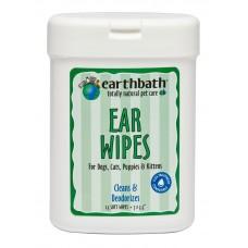 Earthbath Ear Wipe 25s
