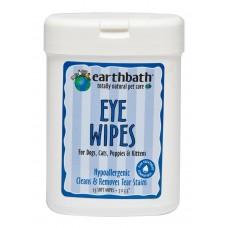 Earthbath Eye Wipe 25s