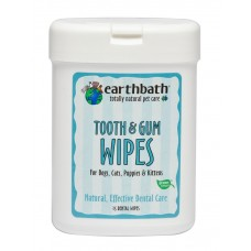 Earthbath Tooth & Gum Dental Wipe 25s
