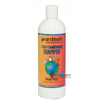 Earthbath 2-in-1 Conditioning Mango Tango Shampoo 472ml