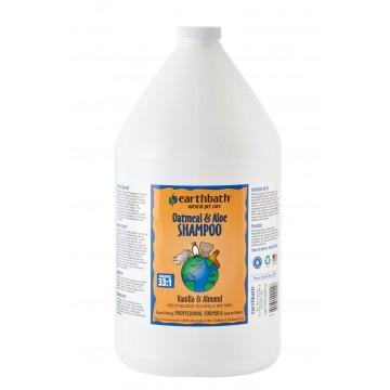 Earthbath Oatmeal & Aloe Vanilla & Almond Shampoo 1 Gallon