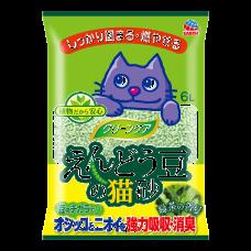 Earth Pet Green Pea Clumping Cat Litter Green Tea 6L  (2Packs)