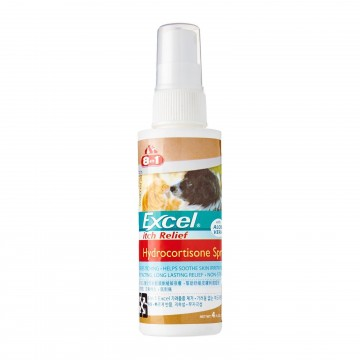 8 in 1 Excel Itch Relief Hydrocortisone Spray with Aloe Vera 118ml