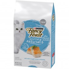 Fancy Feast Gourmet Naturals with Wild Caught Ocean Whitefish 1.54kg