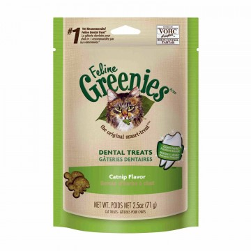Feline Greenies Dental Treats Catnip 71g