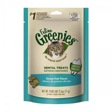 Feline Greenies Dental Treats Ocean Fish 71g