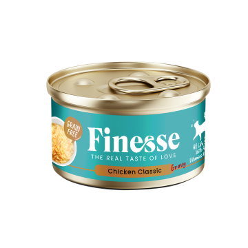 Finesse Grain-Free Chicken Classic in Gravy 85g Carton (24 Cans)