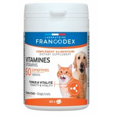 Francodex Vitamins (Tonicity & Vitality) 60's