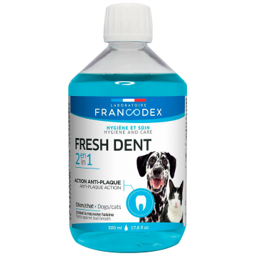 Francodex Fresh Dent 2in1 (Anti-Plaque Action) 500ml