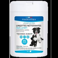 Francodex Multi-Purpose Cleansing Wipes 50's