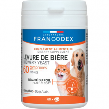 Francodex Brewer's Yeast (Healthy Coat) 60's