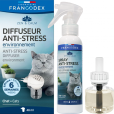 Francodex Anti-Stress Bundle: Diffuser, Diffuser Refill & Spray