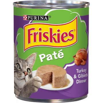 Friskies Classic Pate Turkey & Giblets Dinner Classic 368g