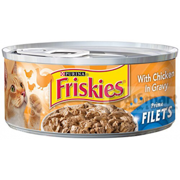 Friskies Prime Filets with Chicken in Gravy 156g
