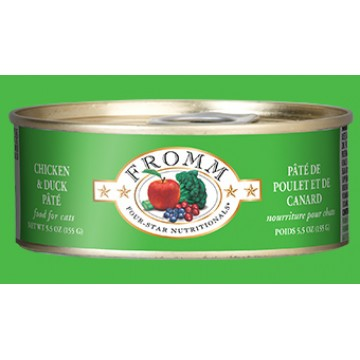 Fromm Chicken & Duck Pate 156g Carton (12 Cans)