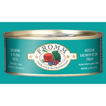 Fromm Salmon & Tuna Pate 156g Carton (12 Cans)