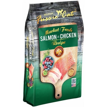 Fussie Cat Market Fresh Salmon & Chicken 4.54kg