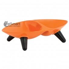 FuzzYard Double Bowl Orange