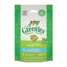 Feline Greenies Dental Treats Catnip 60g