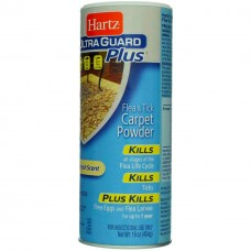 Hartz Ultra Guard Plus Flea & Tick Carpet Powder Clean Fresh Scent 454g