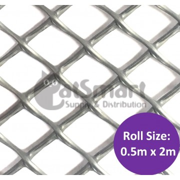 Kenford Multi-purpose HDPE Mesh Hexagonal 12mm 010 Grey