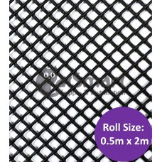 Kenford Multi-purpose HDPE Mesh Hexagonal 3mm 070 Black