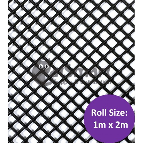 Kenford Multi Purpose Hdpe Mesh Hexagonal 3mm 077 Black