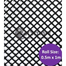 Kenford Multi-purpose HDPE Mesh Hexagonal 3mm 07S Black