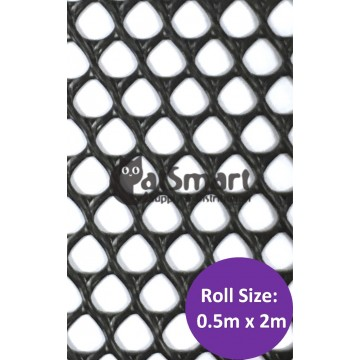 Kenford Multi-purpose HDPE Mesh Diamond 8mm 003 Black