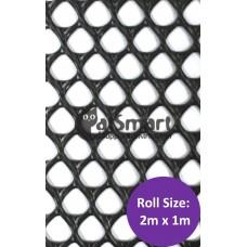Kenford Multi-purpose HDPE Mesh Diamond 8mm 004 Black