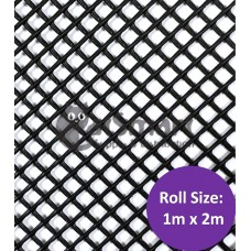 Kenford Multi-purpose HDPE Mesh Hexagonal 3mm 077 Black