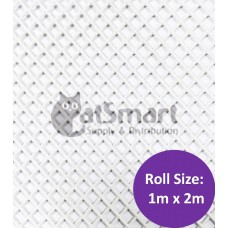 Kenford Multi-purpose HDPE Mesh Hexagonal 3mm 077 White