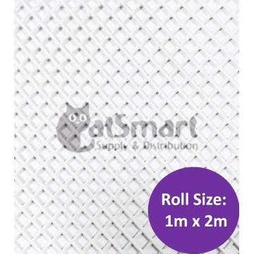 Kenford Multi-purpose HDPE Mesh Hexagonal 3mm 077 White