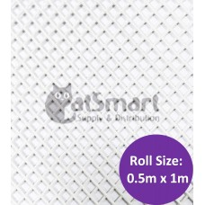 Kenford Multi-purpose HDPE Mesh Hexagonal 3mm 07S White