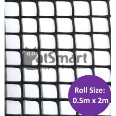 Kenford Multi-purpose HDPE Mesh Rectangular 14mm 050 Black