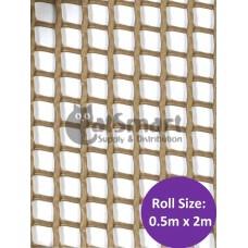 Kenford Multi-purpose HDPE Mesh Rectangular 6mm 005 Brown
