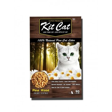 Kit Cat 100% Natural Pine Cat Litter 40Lb
