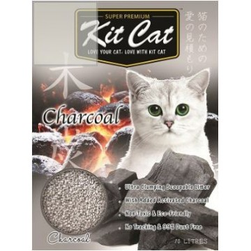Kit Cat Classic Clump Charcoal 10L (3 Packs)