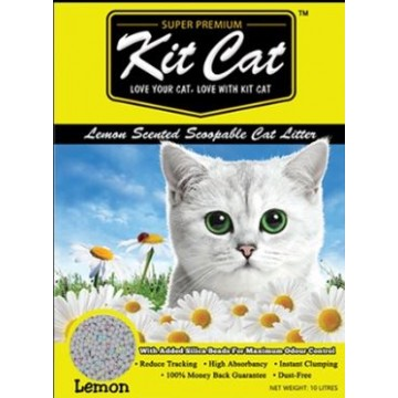 Kit Cat Classic Clump Lemon 10L (3 Packs)