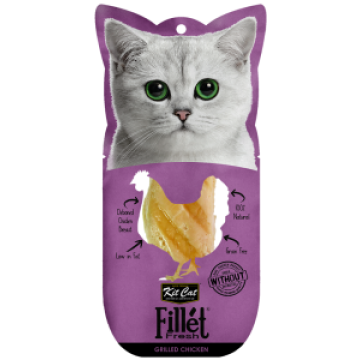 Kit Cat Fillet Fresh Grilled Chicken 30g