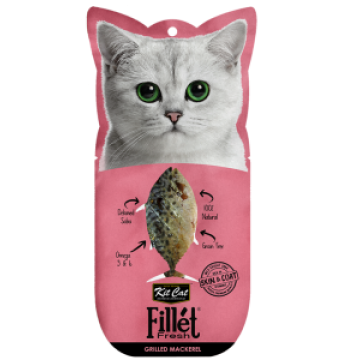 Kit Cat Fillet Fresh Grilled Mackerel 30g