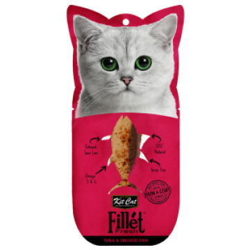 Kit Cat Fillet Fresh Tuna & Smoked Fish 30g